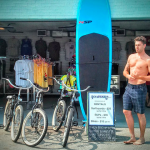Rockaway Beach Boardwalk Board Bike Rental Queens