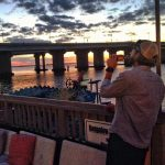 Sunset Drink Bungalow Bar Rockaway Beach Queens - jeffsims04
