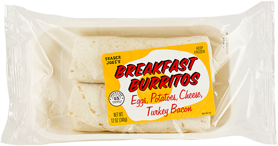 Trade Joe's Frozen Breakfast Burritos Recall