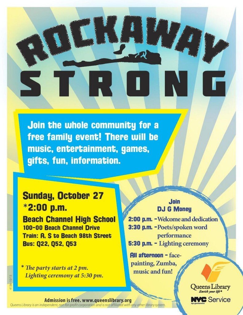 Rockaway Strong Family Community Event