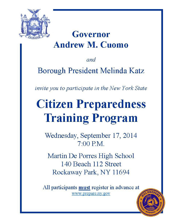 Citizen Preparedness Training Program