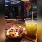 Fish Taco And Drink At Tacoway Beach Rockaway Queens - karlavillarreal1