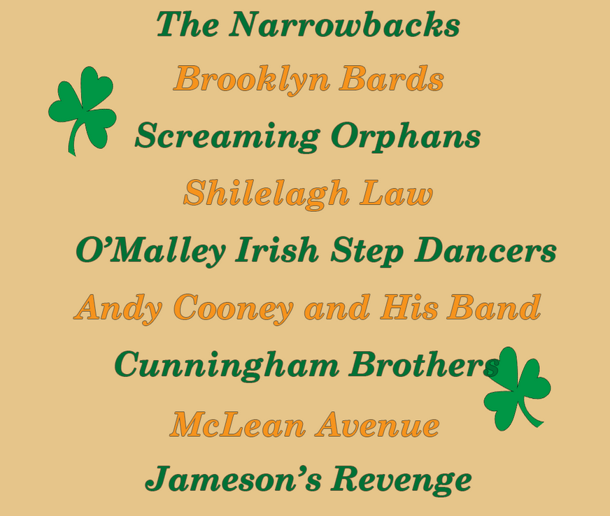 Rockaway Beach Irish Festival June 4-5