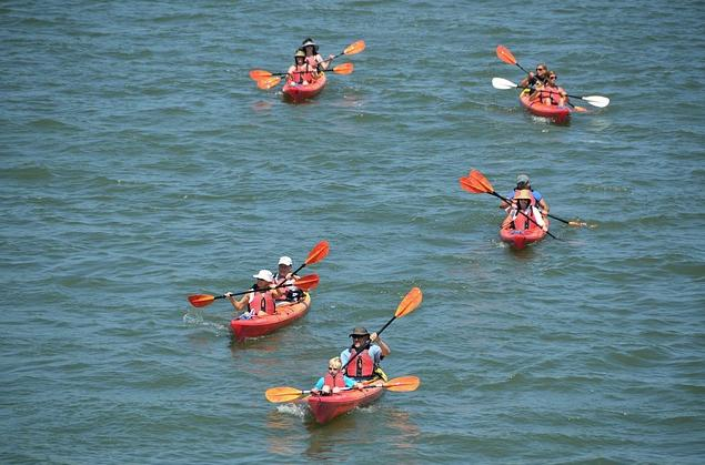 Jamaica Bay Community Clean Up And Paddle