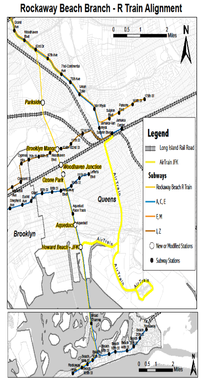 More Train Options And Farewell To Rockaway Shuttle