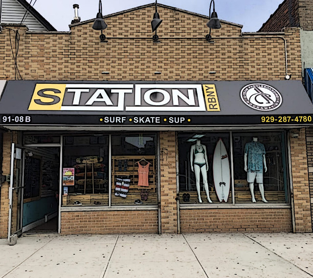 Station RBNY Rockaway Beach Queens therockawaysny