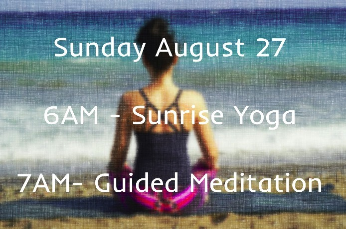 Sunrise Yoga Guided Meditation On The Beach Queens therockawaysny