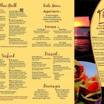 Thai Rock Menu 1 Rockaway Queens