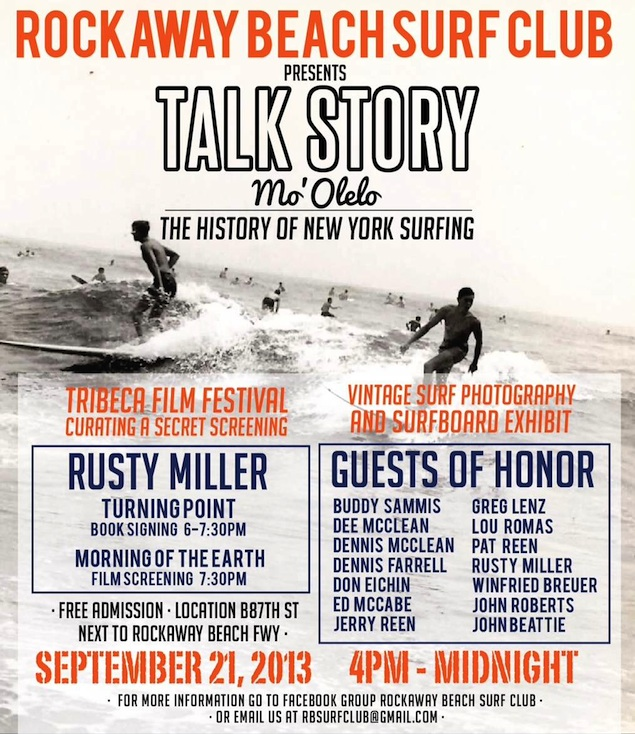 Rockaway Beach Surf Club Presents Talk Story
